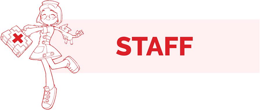 Staff information page header